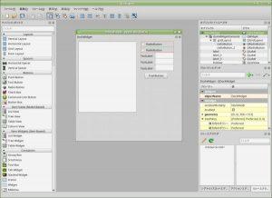 Qt Designer Version 4.8.7